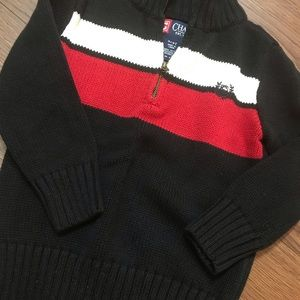 Chaps polo sweater